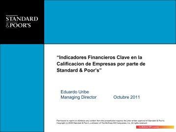 """""""Indicadores Financieros Clave en la Calificacion de ... - IMEF"""