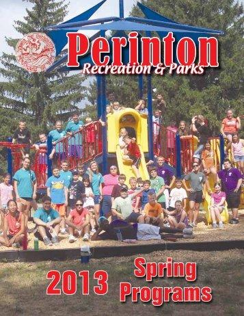 Spring Programs - Perinton