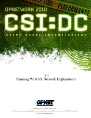 Planning WiMAX Network Deployments