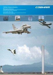 Cobham Antenna Systems - European Antennas