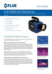 FLIR ORION SC7000-Series