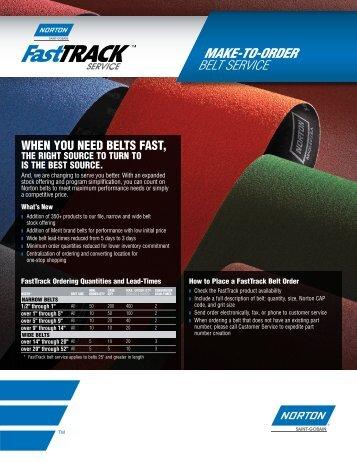 Belts - FastTrack Service - Norton
