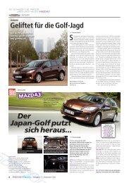 Mazda Pressespiegel - Mazda Autohaus Rottmann