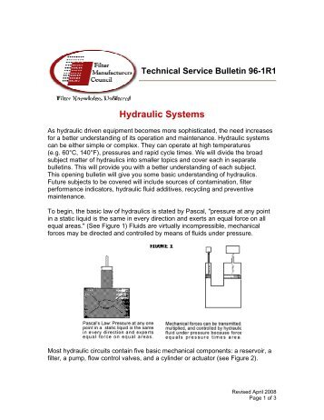 TSB-96-1R1 - Baldwin Filters
