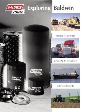 Exploring Baldwin Brochure(pdf) - Baldwin Filters