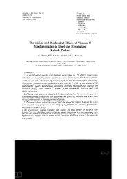 lnternat. J. Vit. Nutr. Res.54 Vitamin C (1984) 65-74 Double blind trial