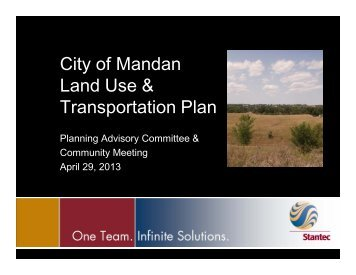 What is this Plan? - City of Mandan