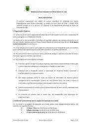 Normas de Funcionamento - Câmara Municipal de Cuba
