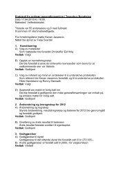 Protokoll fra ordinær generalforsamling i Tøyenhus ... - Herborvi.no