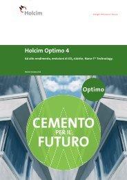 Cover title 28pt. Holcim Optimo 4 - Holcim Schweiz