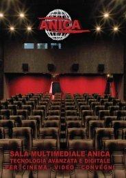 sala multimediale anica tecnologia avanzata e digitale per cinema