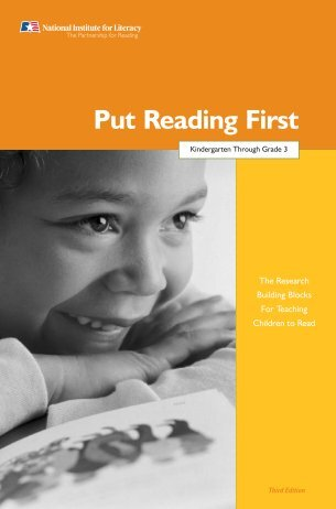 Put Reading First 2006 - LINCS - U.S. Department of Education