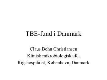 TBE i Danmark - Arendal kommune