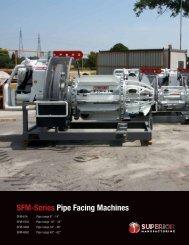 Sfm-Series Pipe facing machines - Worldwide Machinery
