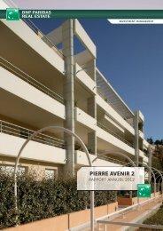 Rapport annuel - Pierre Avenir 2 - 2012 - BNP Paribas REIM