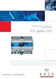 Prospekt PVI pro Log.cdr - SONNIG