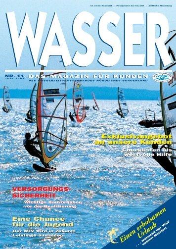 Wasser 11 ES - Wasserleitungsverband Nördliches Burgenland