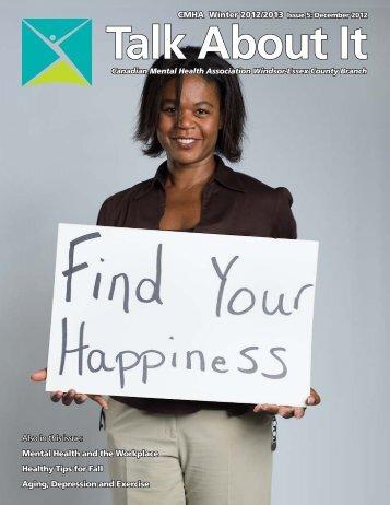 CMHA Winter 2012/2013 Issue 5 - Canadian Mental Health ...
