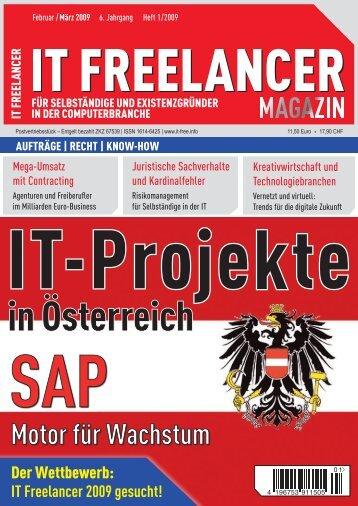 IT Freelancer Magazin Nr. 1/2009