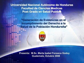 Generación de Evidencias en el Incumplimiento del Derecho a la ...