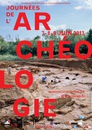 Journées nationales de l'archéologie au musée Joseph ... - Vinomedia