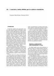 15. I concimi a lento effetto per le colture vivaistiche - Clamer Informa