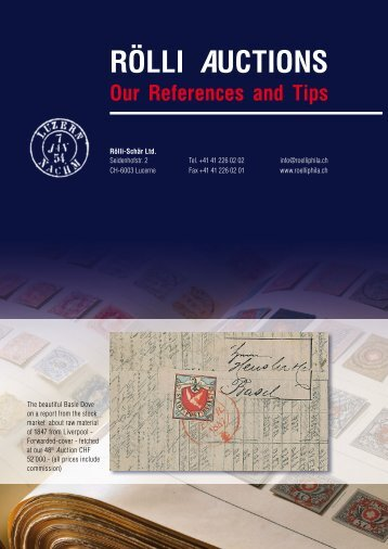 tips and information as a PDF-File - R+B Rölli-Schär AG, Luzern