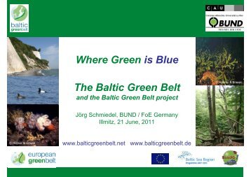 Where Green is Blue The Baltic Green Belt