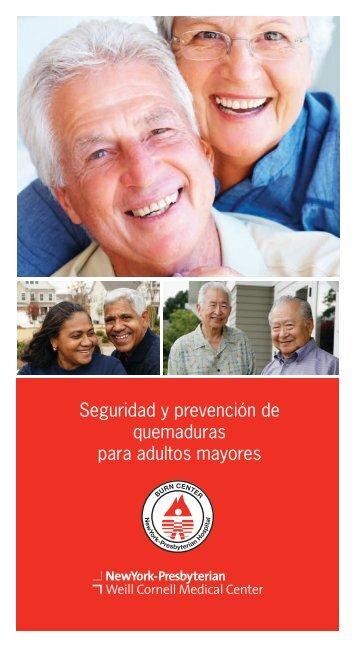 Seguridad y prevención de quemaduras para adultos mayores