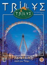 00Trilye sayi26 - Trilye Restaurant