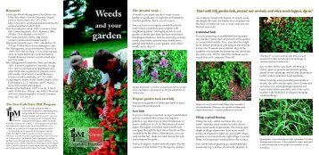 Weeds garden - New York State Integrated Pest Management ...