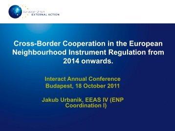 Jakub Urbanik, EEAS - Interact