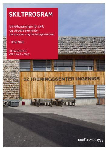 SKILTPROGRAM - Forsvaret