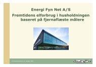 Energi Fyn Net A/S Fremtidens elforbrug i husholdningen baseret på ...
