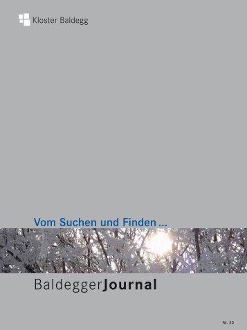 online lesen - Kloster Baldegg