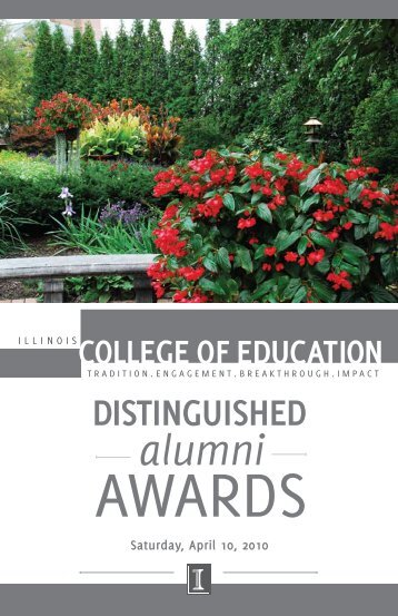 Download the 2010 Distinguished Alumni Awards Program (PDF)