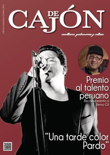 revista de cajon edicion setiembre octubre 2014