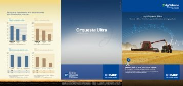 Folleto Orquesta Ultra para Trigo - Basf