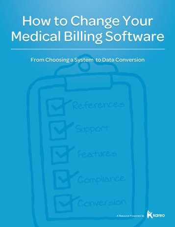 How to Change Your Medical Billing Software - Kareo