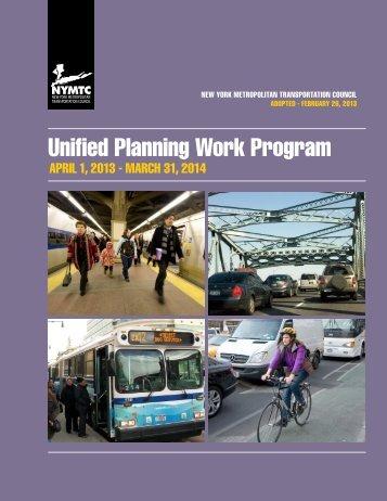 Adopted 2013–2014 UPWP - New York Metropolitan Transportation ...