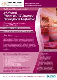 2nd Annual Women in ICT Strategic Development Conference