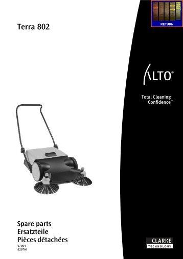 Terra 802 - Wap Nilfisk Alto Shop