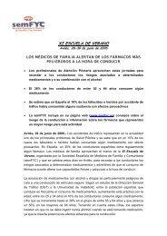 XI ESCUELA DE VERANO - samFYC. Sociedad Asturiana de ...