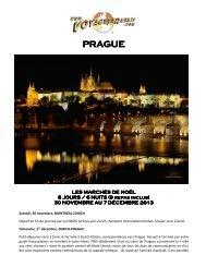 PRAGUE - Voyages à rabais