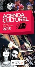 AGENDA CULTUREL - Accès culture