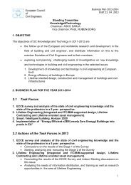 SC K&T Business Plan 2013 - 2014 draft - European Council of Civil ...