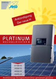 Datenblatt - Vario green energy Concept GmbH