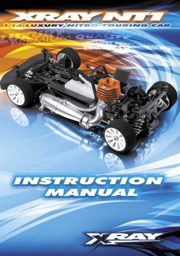 XRAY NT1 Instruction Manual