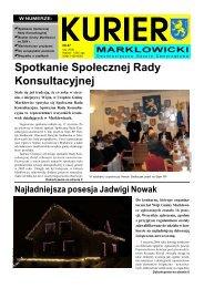 Spotkanie Społecznej Rady Konsultacyjnej - Gmina Marklowice