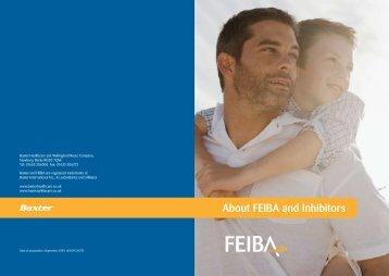 FEIBA Patient Information Booklet - Haemophilia Care